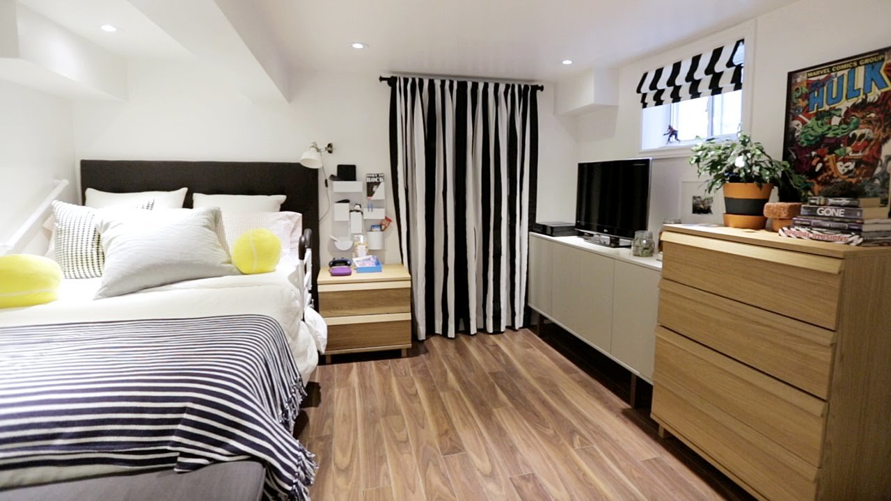Best Interior Design — How To Turn Your Basement Into A Bright Bedroom Youtube With Pictures