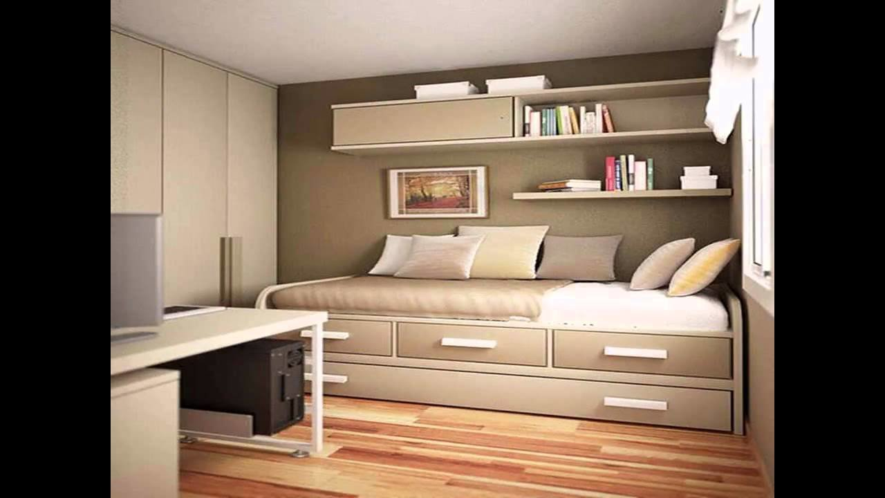 Best Simple Small Bedroom Makeover Youtube With Pictures