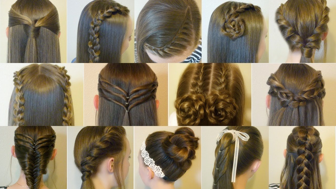 Free 14 Easy Hairstyles For School Compilation 2 Weeks Of Wallpaper