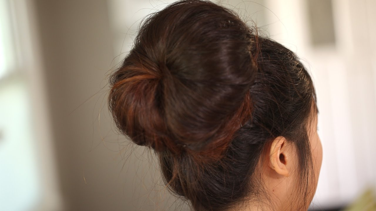Free How To Create The Modern Big Bun Kin Beauty Youtube Wallpaper
