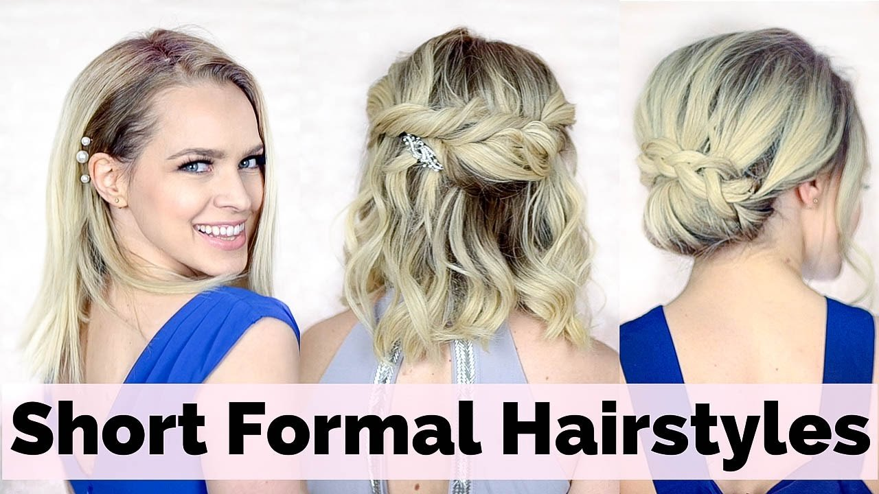 Free Prom Hairstyles For Short Hair Youtube Wallpaper