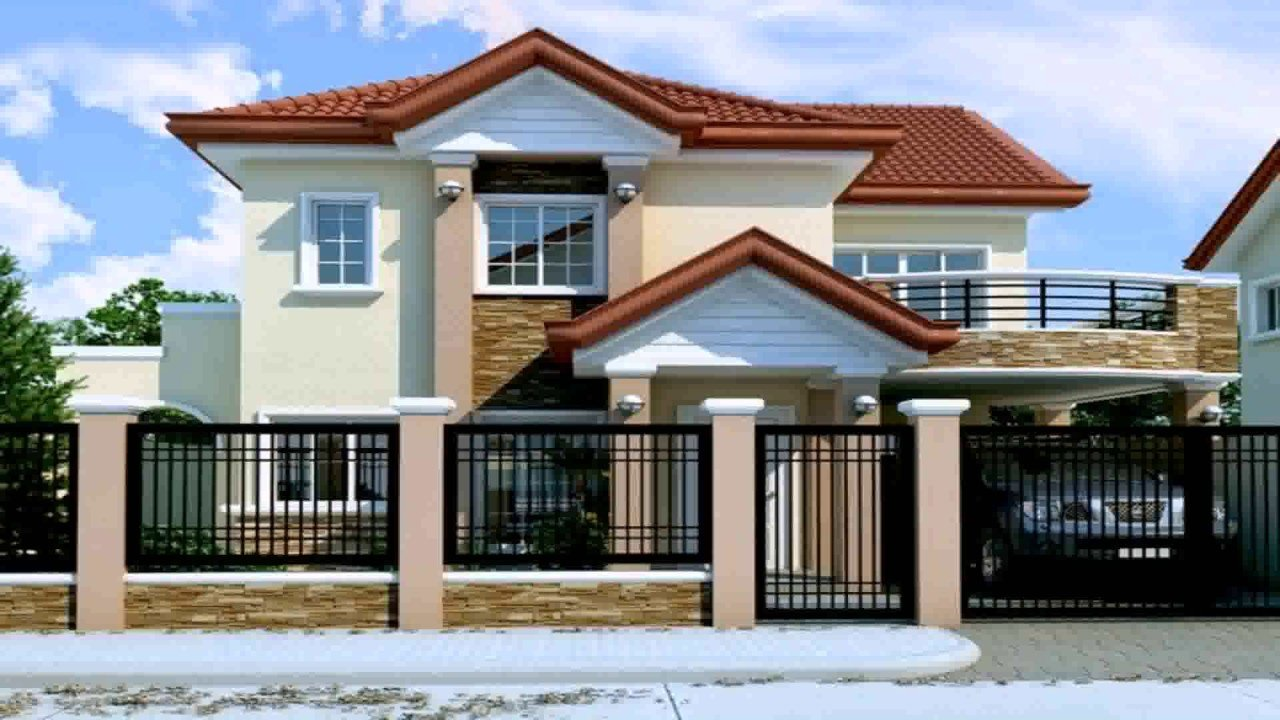 Best 2 Storey House Design With Floor Plan In The Philippines Youtube With Pictures
