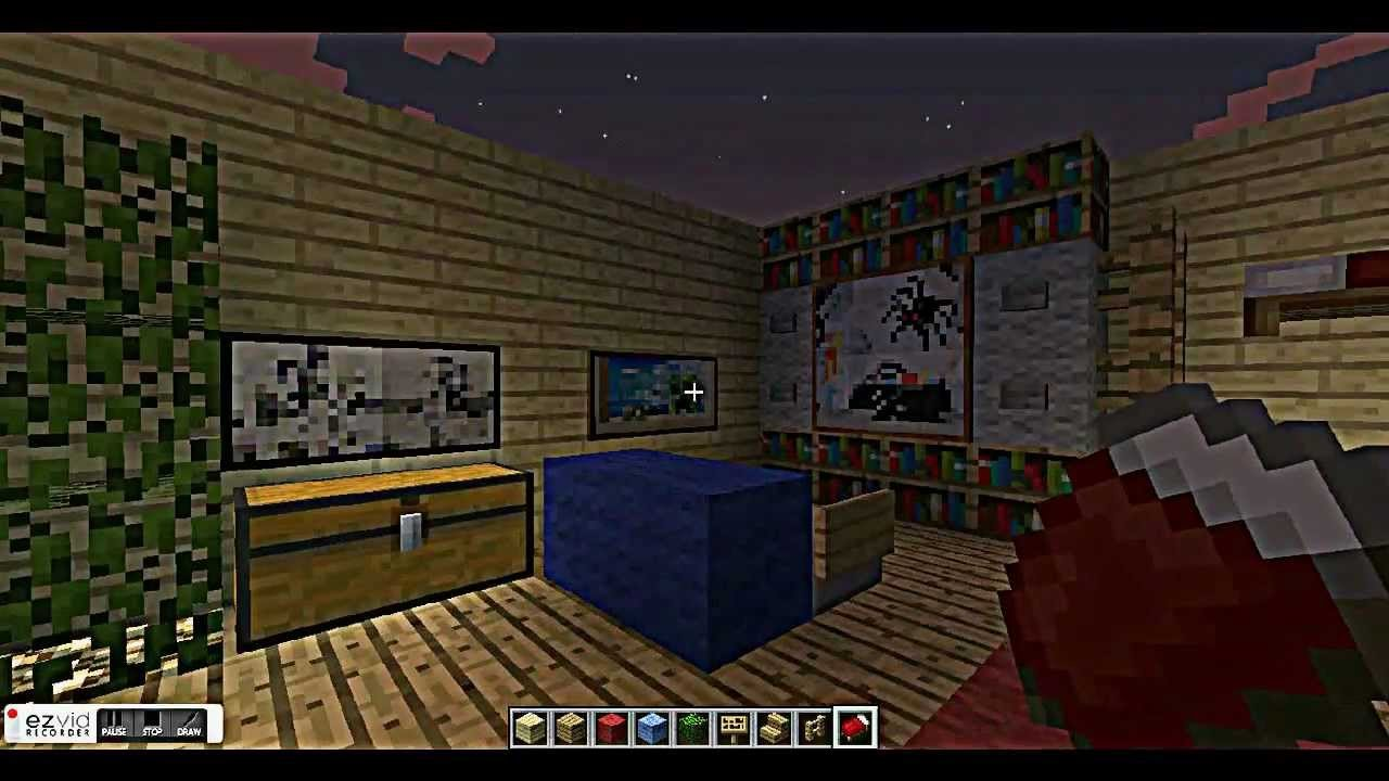 Best Cool Bedroom Designs For Minecraft Youtube With Pictures