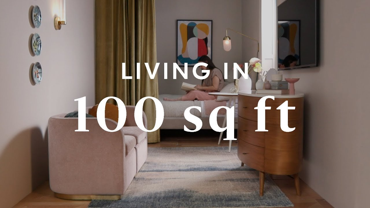 Best Living In 100 Square Feet Youtube With Pictures