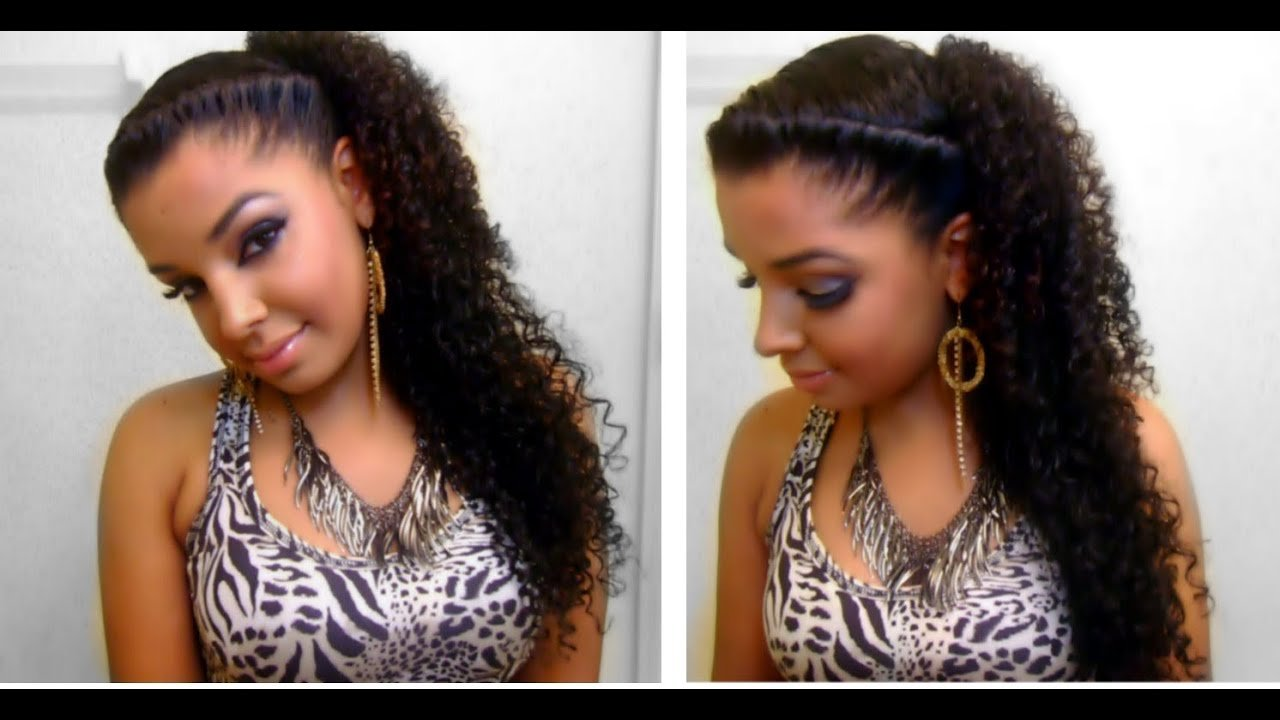 Free How To Easy Quick Cute Twist Side Natural Curly Wallpaper
