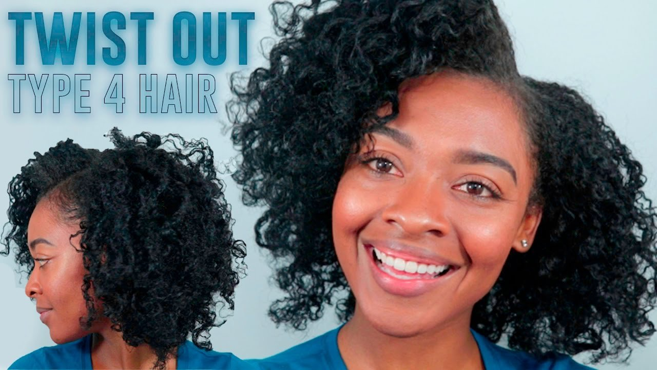 Free Twist Out On Type 4 Hair Natural Hairstyles For Black Wallpaper