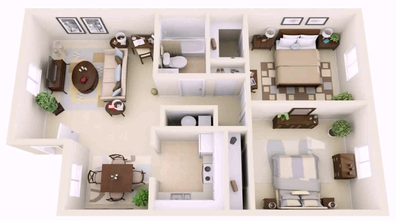Best 2 Bedroom House Design Pictures Youtube With Pictures