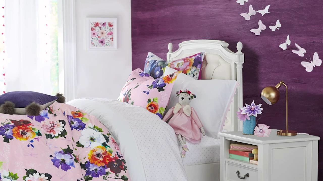 Best Beautiful Butterfly Bedroom Pottery Barn Kids Youtube With Pictures