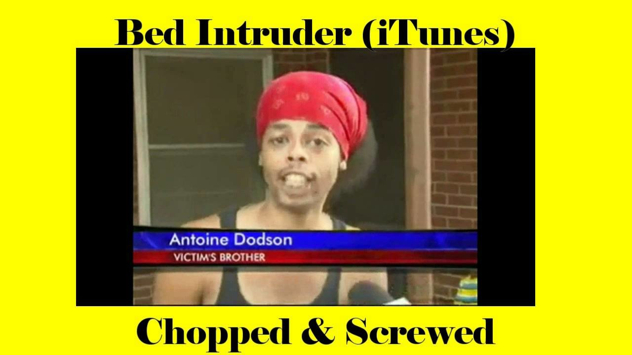 Best Itunes Version Bed Intruder Song Chopped Scr*W*D With Pictures