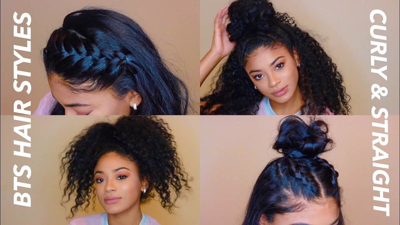 Free Back To School Hairstyles Curly Straight Jasmeannnn Wallpaper