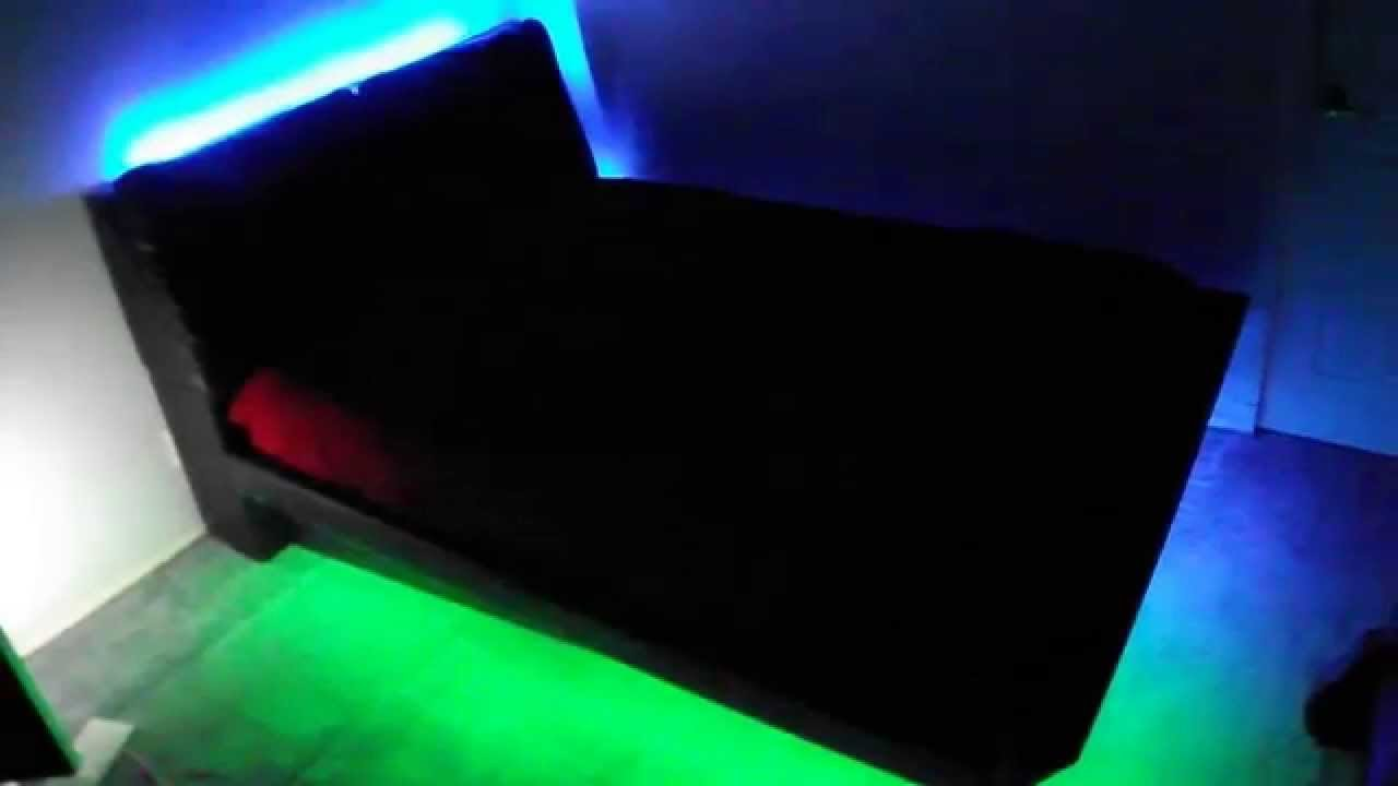 Best Bedroom Under Bed Led Color Changing Light Kit Reacts To With Pictures