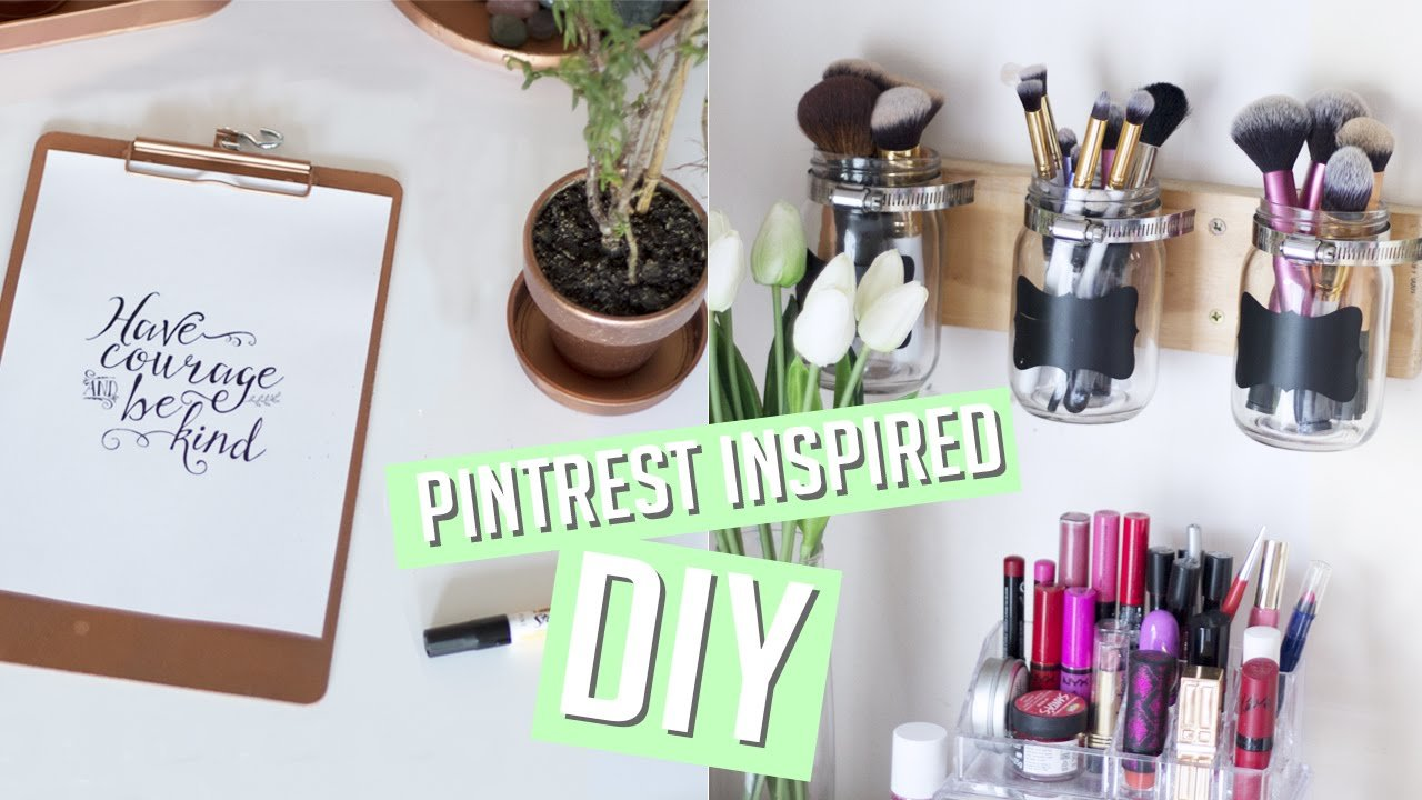 Best Diy Room Decor Organisation Pinterest Inspired Youtube With Pictures