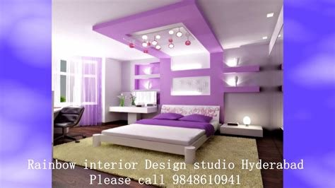 Best Interior Designers In Hyderabad Master Bedroom Pop Ceiling With Pictures