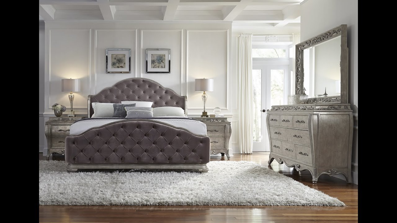 Best Rhianna Glam Style Bedroom Set By Pulaski Furniture Home Gallery Stores Youtube With Pictures