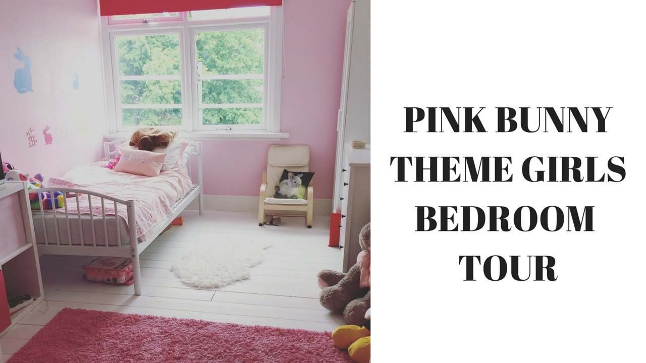 Best Girls Pink Bunny Rabbit Themed Bedroom Tour Youtube With Pictures