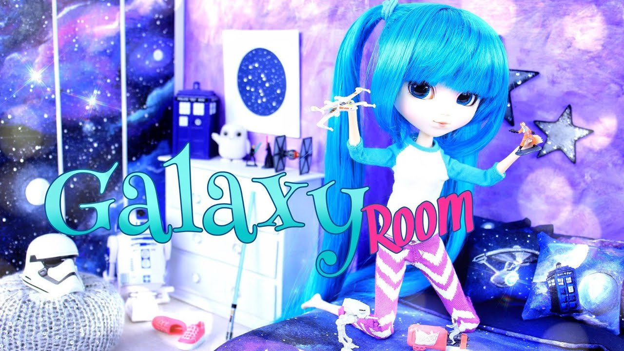 Best Diy How To Make Doll Room In A Box Galaxy Room With Pictures