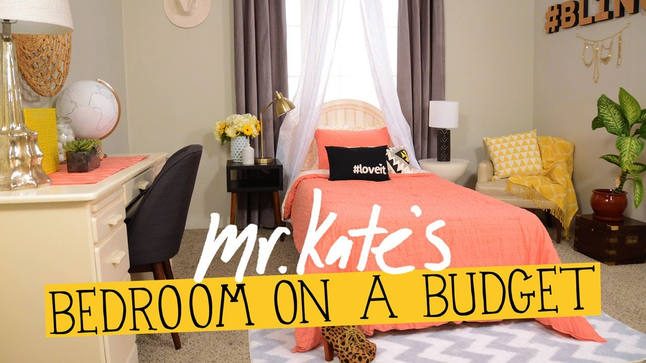 Best Bedroom On A Budget Diy Home Decor Mr Kate Youtube With Pictures