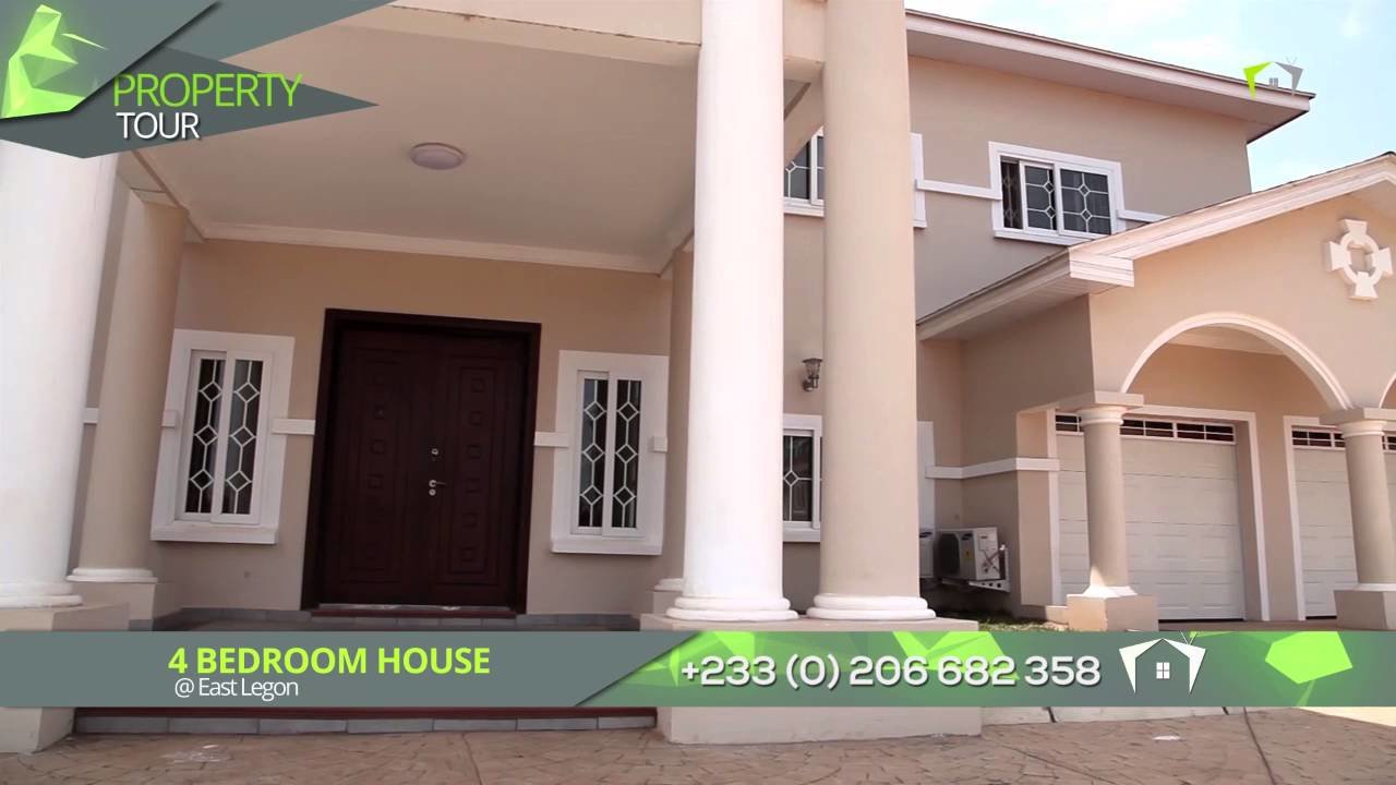 Best 4 Bedroom House At East Legon For Sale Youtube With Pictures