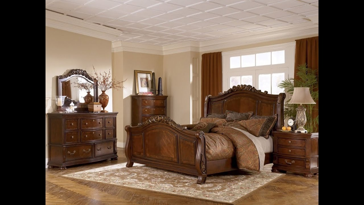 Best Ashley Furniture Bedroom Set Marble Top Youtube With Pictures