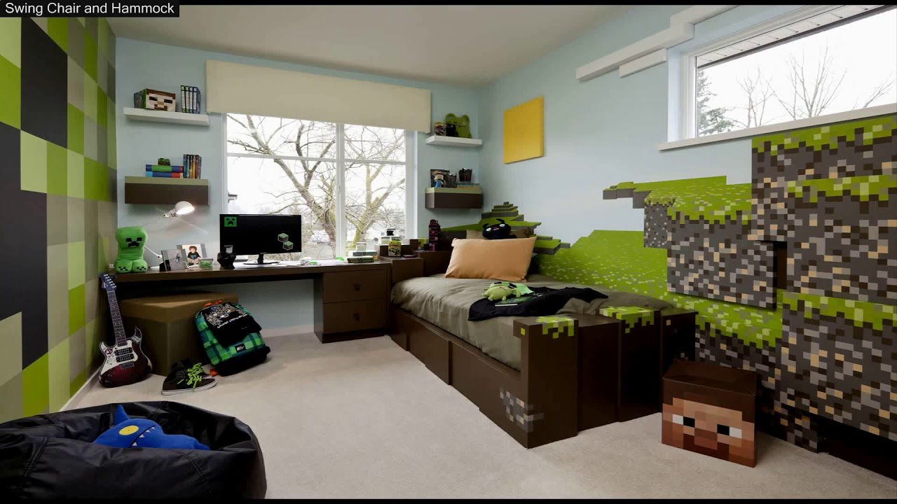 Best Minecraft Bedroom Decorations In Real Life Youtube With Pictures