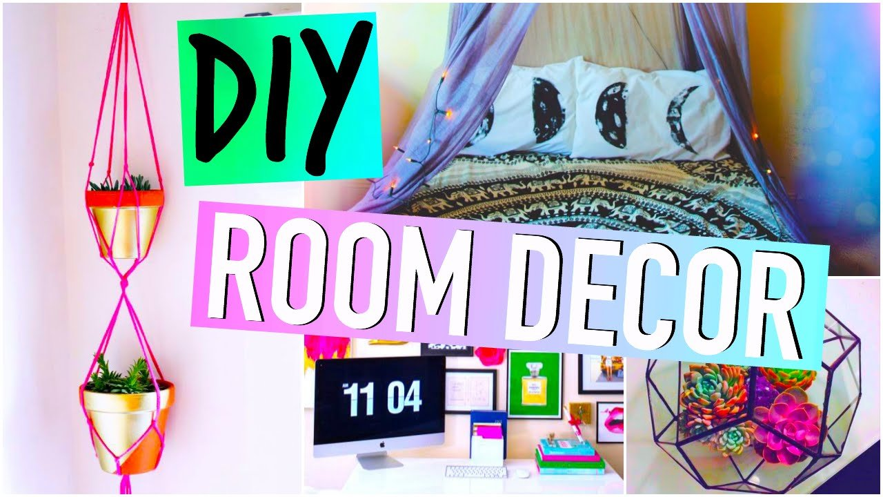 Best Diy Room Decorations Tumblr Inspired Youtube With Pictures