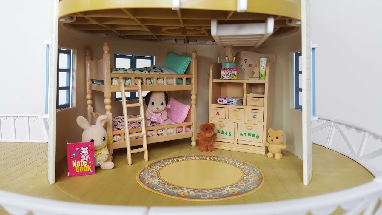 Best Sylvanian Sundays Children S Bedroom Set Youtube With Pictures