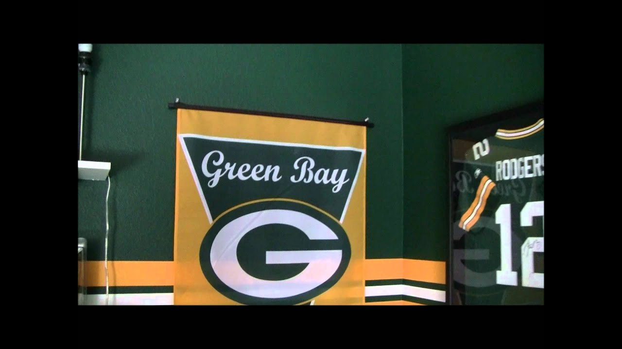 Best Green Bay Packers Bedroom Youtube With Pictures