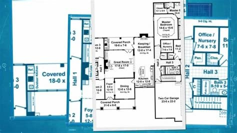 Best Hpg 2500 1 2 500 Square Feet 4 Bedroom 3 Bath Traditional House Plan Youtube With Pictures