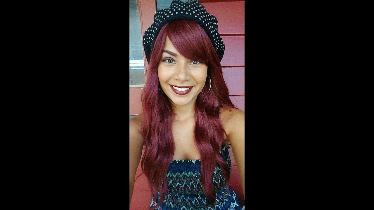Free How To Get Red Hair Without Bleach From Brown To Red Wallpaper