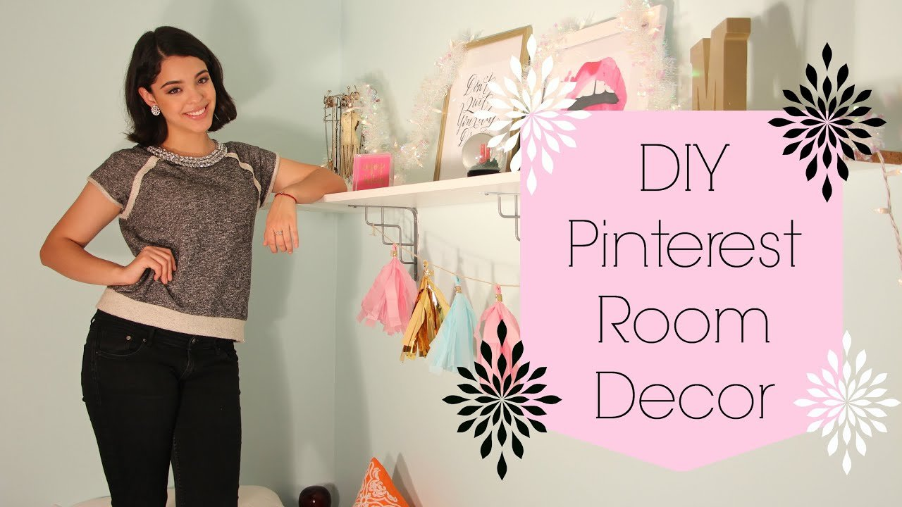 Best Easy D I Y Pinterest Room Decor ♥ Bigapplebeauty Youtube With Pictures