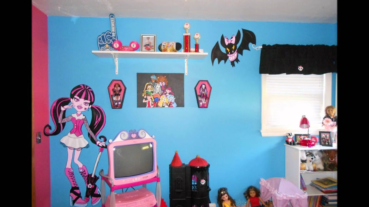 Best Monster High Bedroom Youtube With Pictures