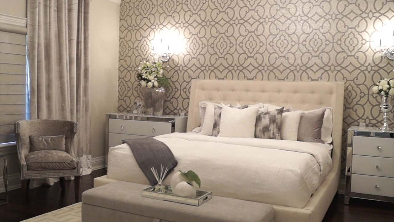 Best Elegant Master Bedroom Makeover Youtube With Pictures