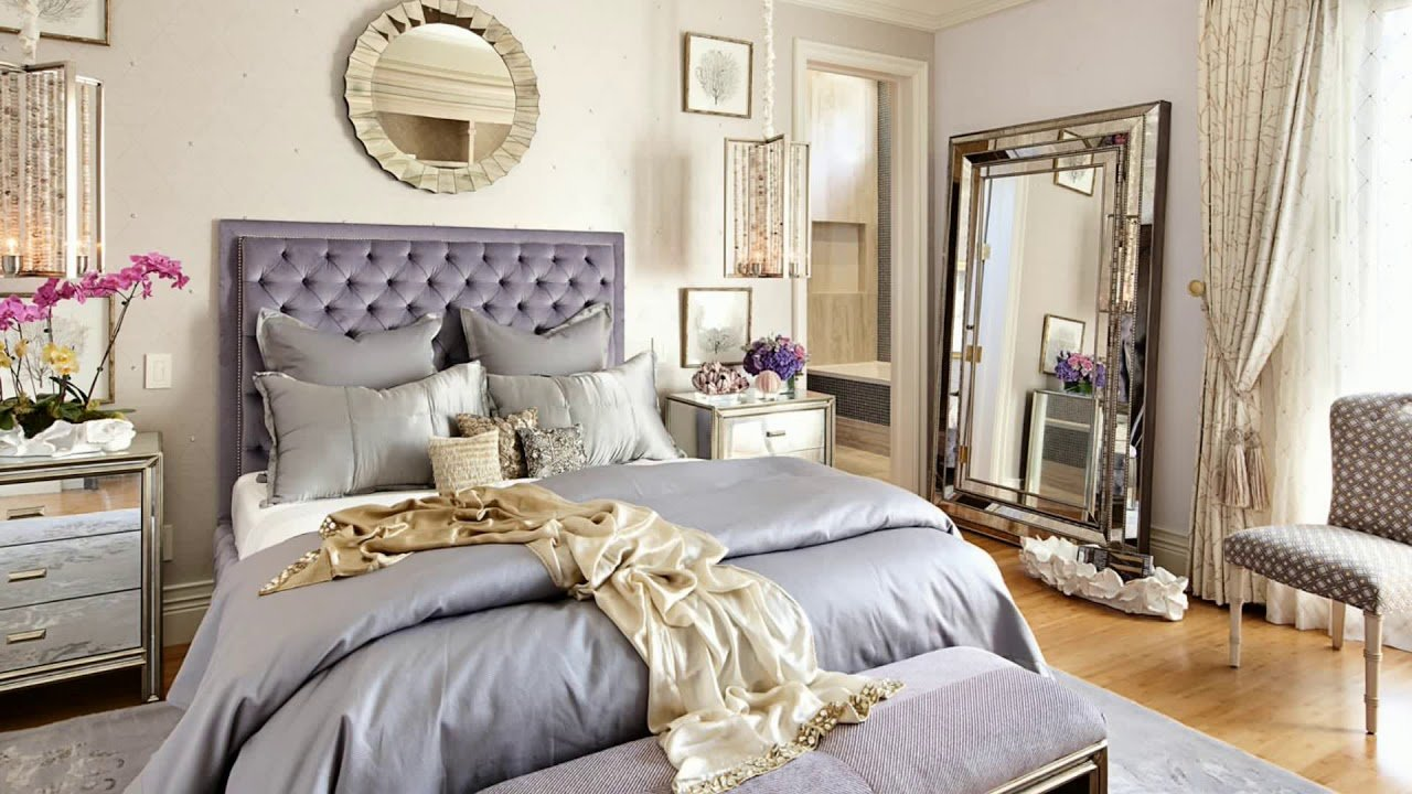 Best Gold Color Bedroom Decorating Ideas 2018 White Cream Furniture Living Room Wall Design Accents With Pictures