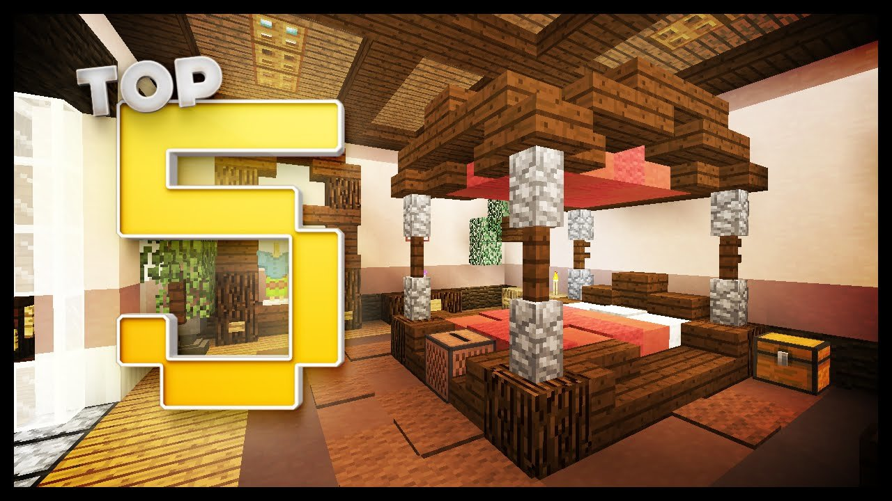 Best Minecraft Bedroom Designs Ideas Youtube With Pictures