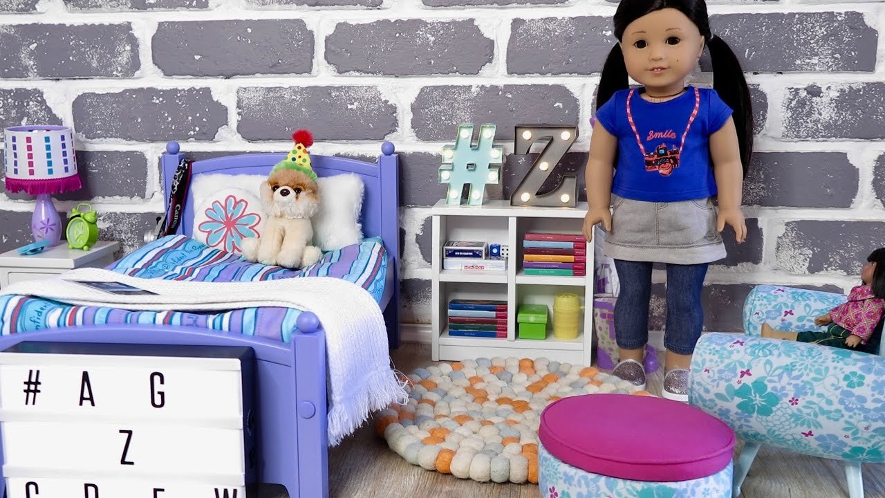 Best American Girl Doll Z Bedroom Youtube With Pictures