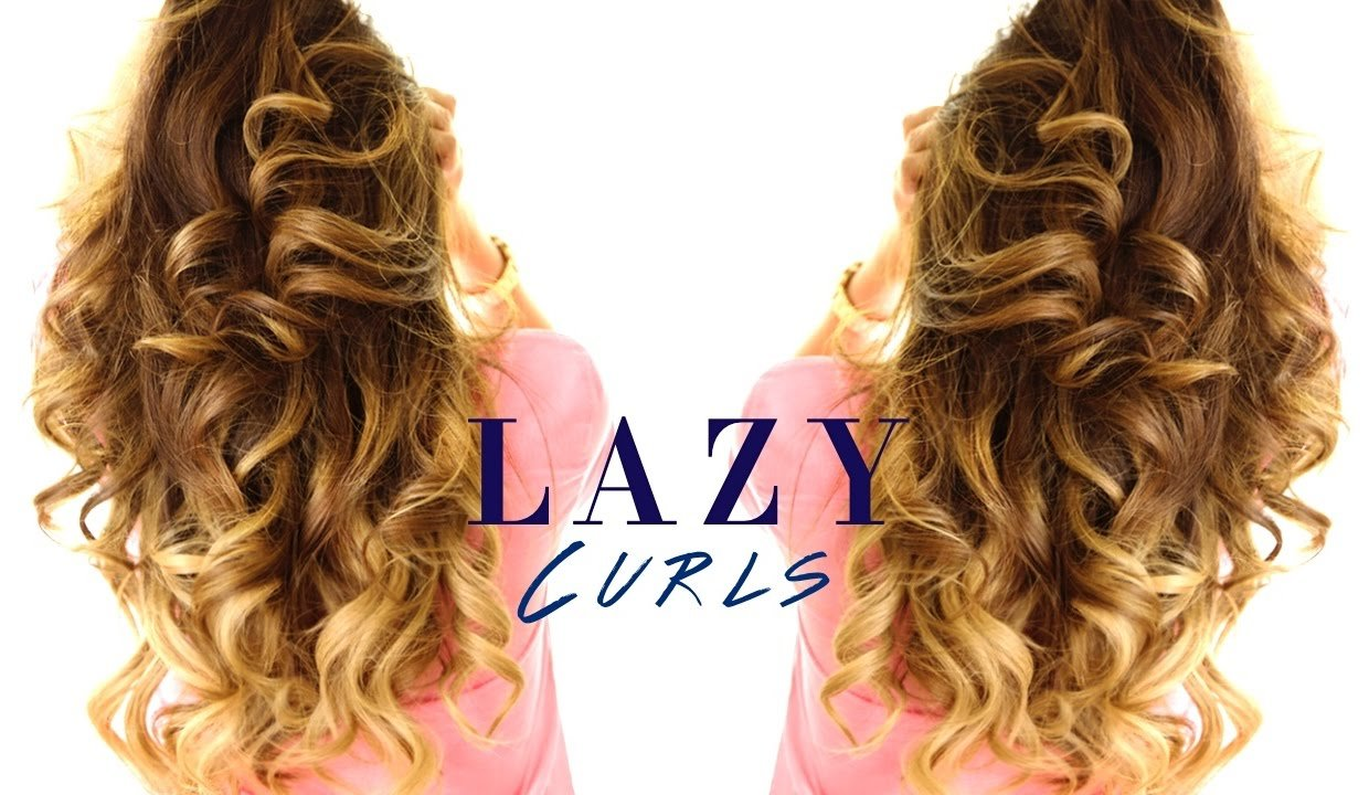 Free 5 Minute Lazy Curls ★ Easy Waves Hairstyles Youtube Wallpaper