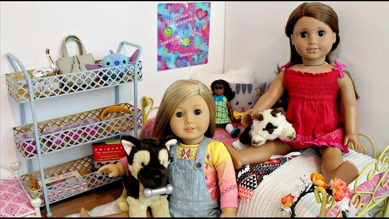 Best American Girl Doll Setting Up Gabriela S Bedroom Tour With Pictures