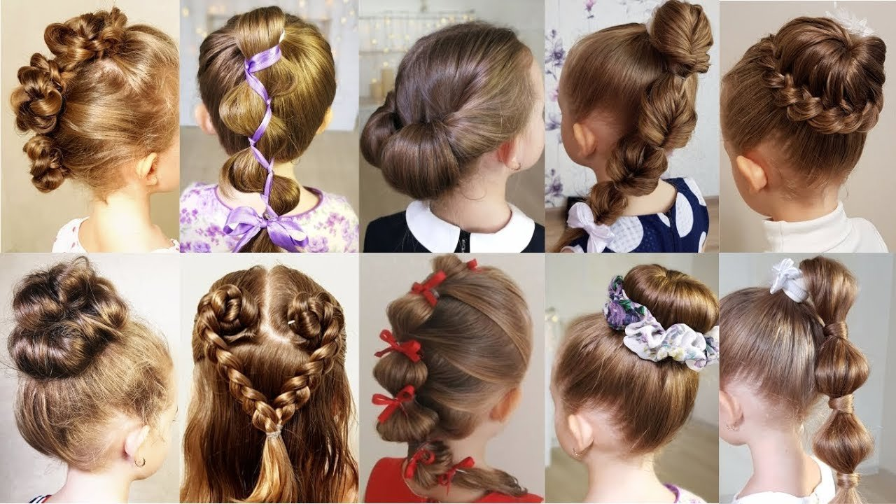 Free 10 Cute 1 Minute Hairstyles For Busy Morning Quick Easy Wallpaper