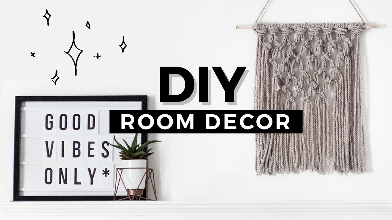 Best Diy Room Decor Tumblr Inspired Affordable Minimal With Pictures