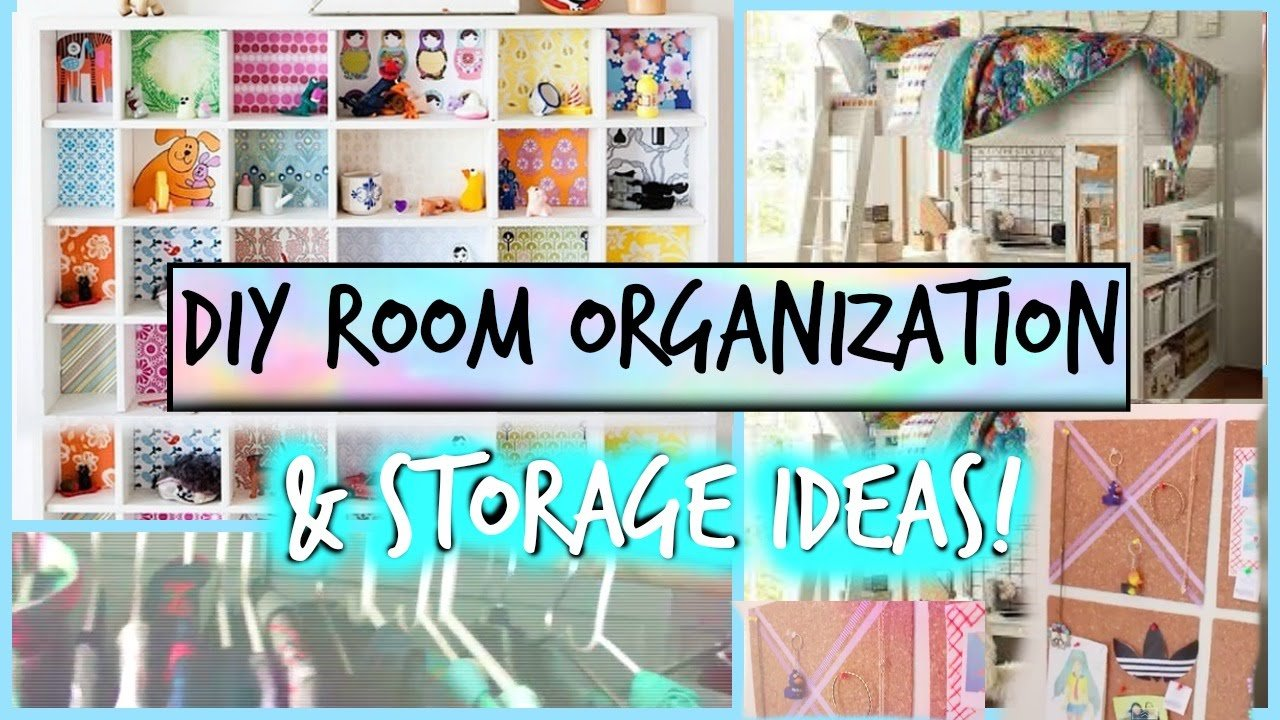 Best Diy Room Organization And Storage Ideas Spring Cleaning Youtube With Pictures