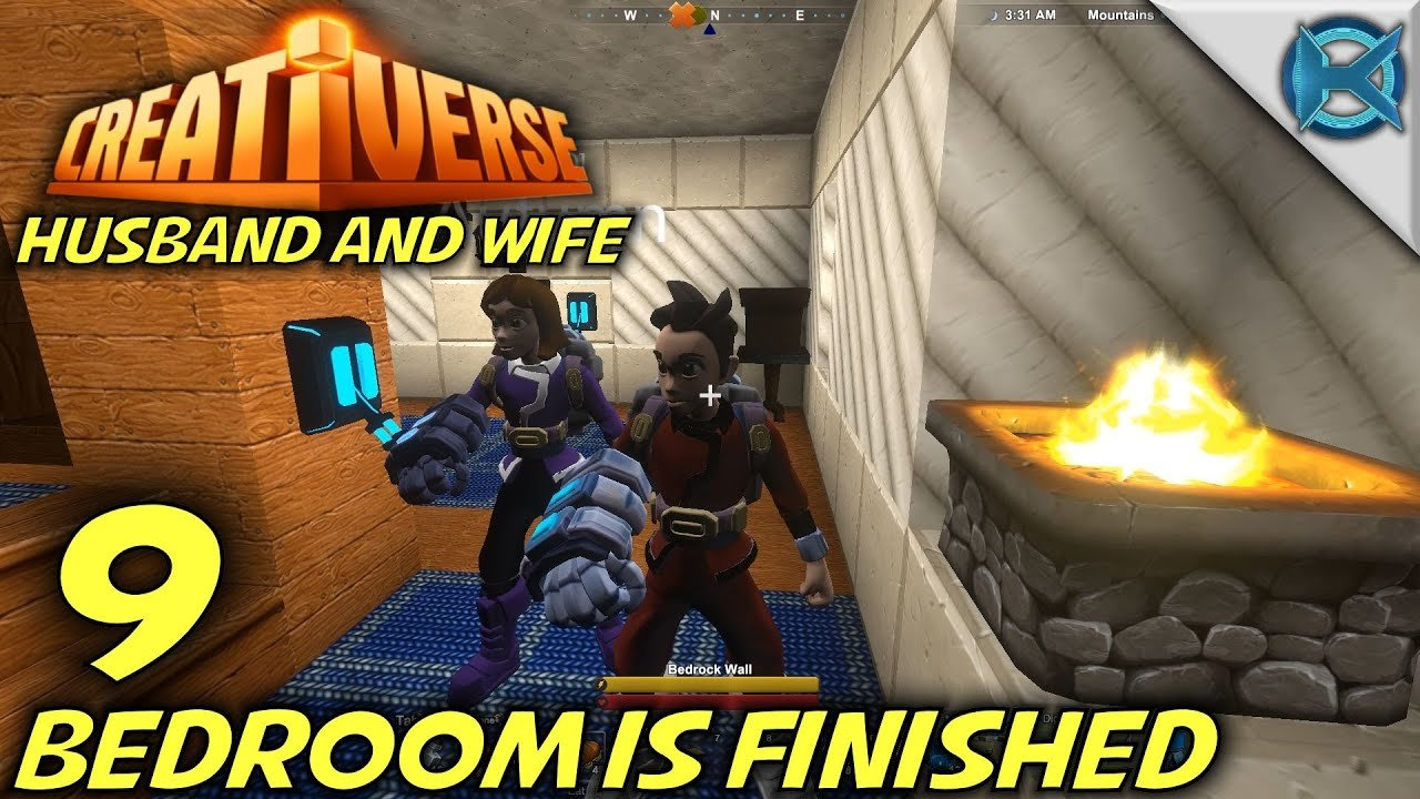 Best Creativerse Ep 9 Bedroom Is Finished Let S Play Husband Wife Gameplay S3 — Kage848 With Pictures