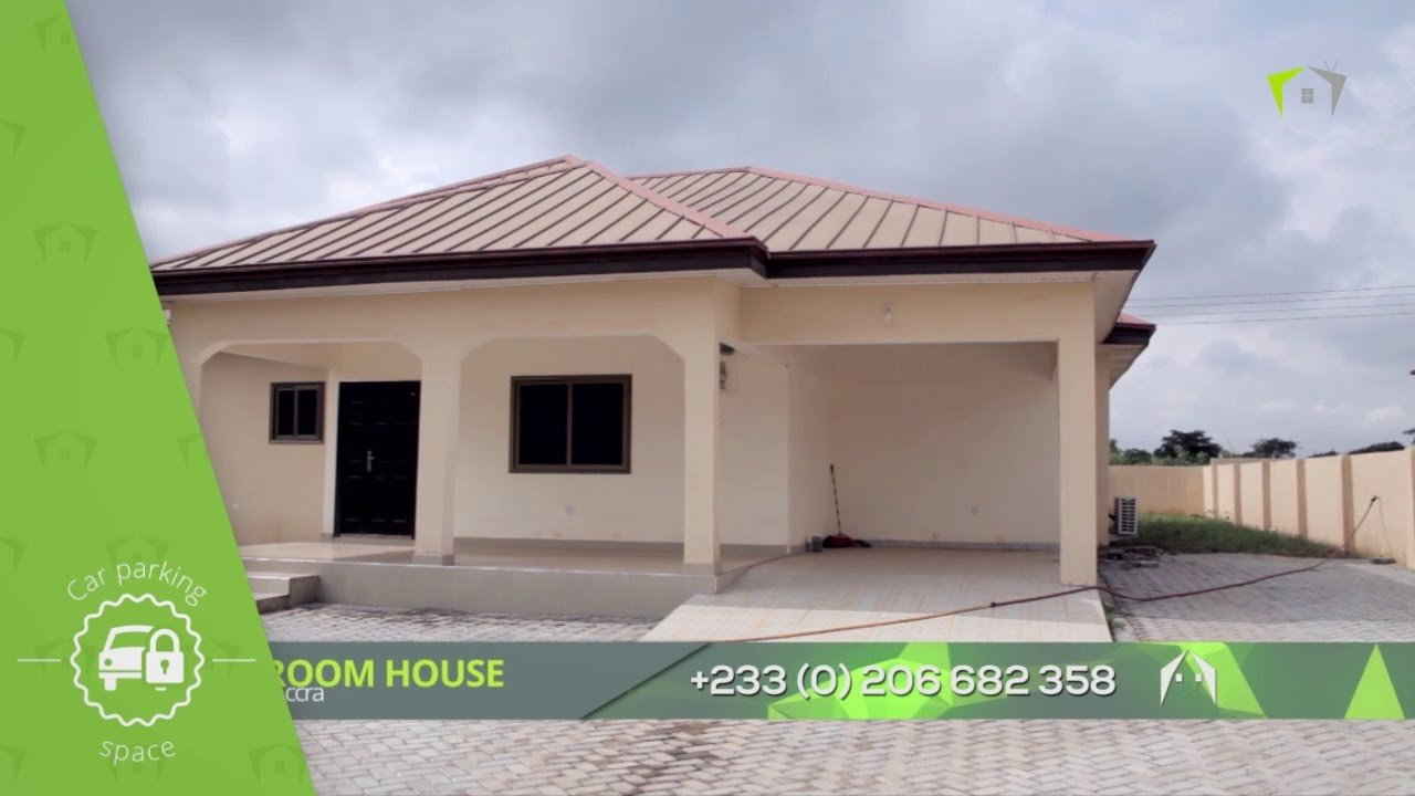 Best 3 Bedroom House Malejor Accra Youtube With Pictures