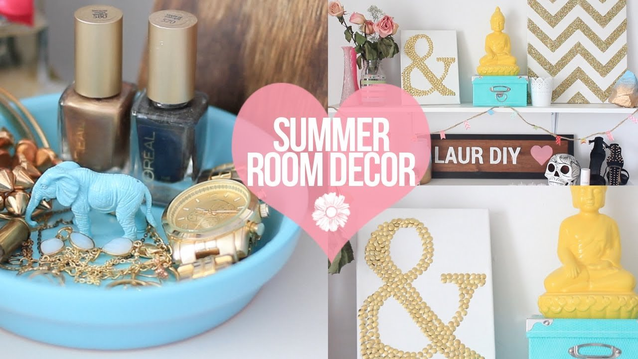 Best Diy Easy Summer Room Decor Laurdiy Youtube With Pictures