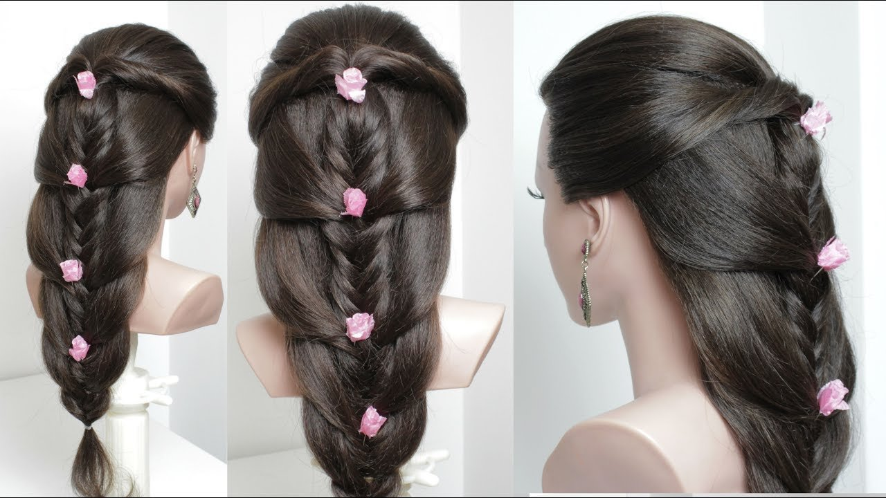 Free Cute Easy Hairstyles For Long Hair Tutorial Youtube Wallpaper