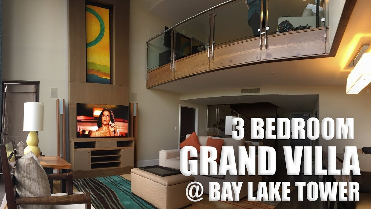 Best 3 Bedroom Grand Villa At Bay Lake Tower Youtube With Pictures