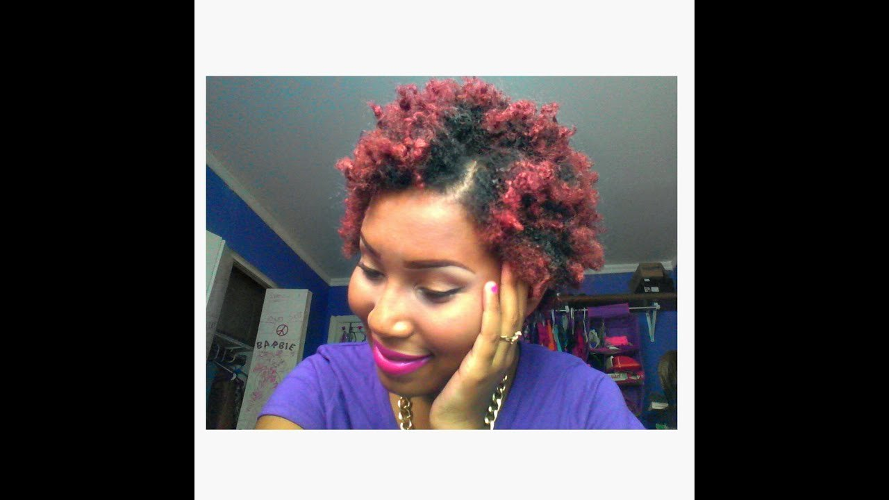 Free Colored My Natural Hair Red Burgundy Without Using Youtube Wallpaper