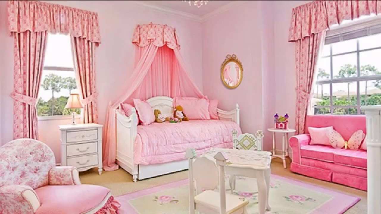 Best Baby Girls Bedroom Decorating Ideas Youtube With Pictures
