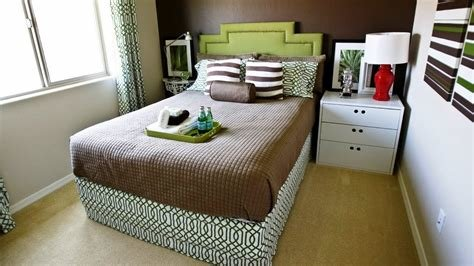 Best Small Bedroom With A Double Bed Decorating Ideas Youtube With Pictures