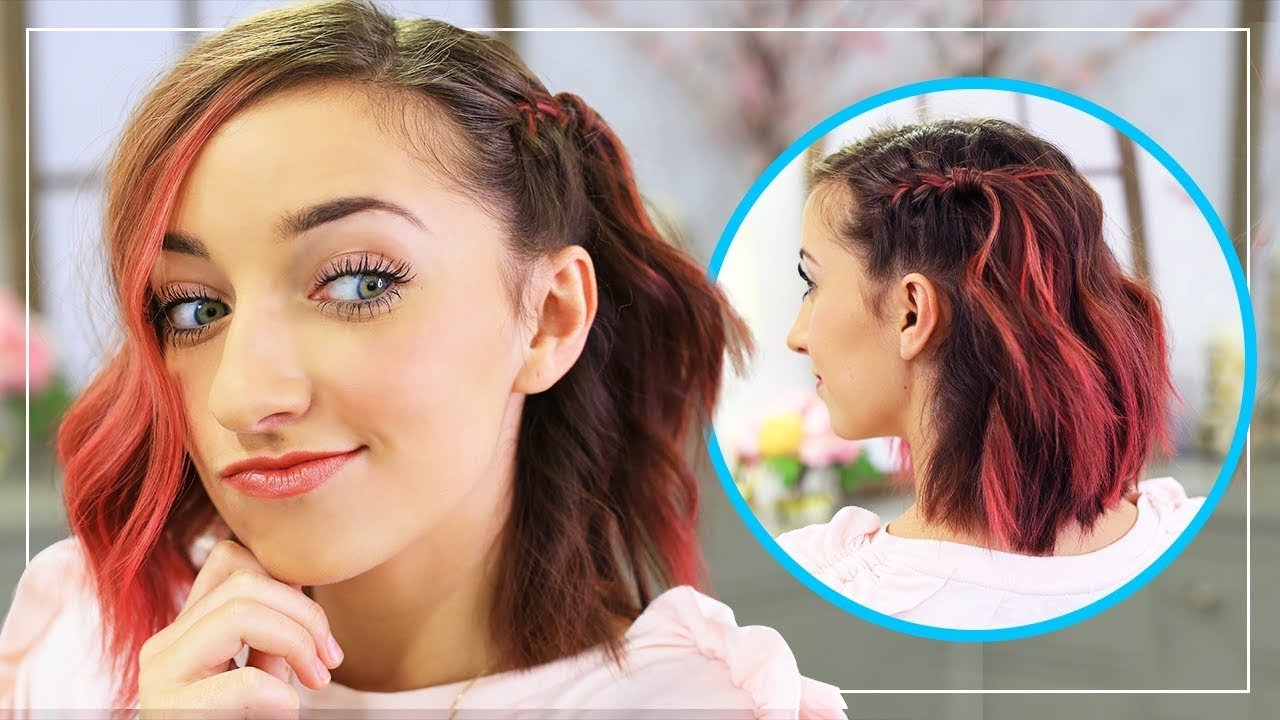 Free Bailey S Diy Side Frenchback Short Hairstyle Ideas Youtube Wallpaper