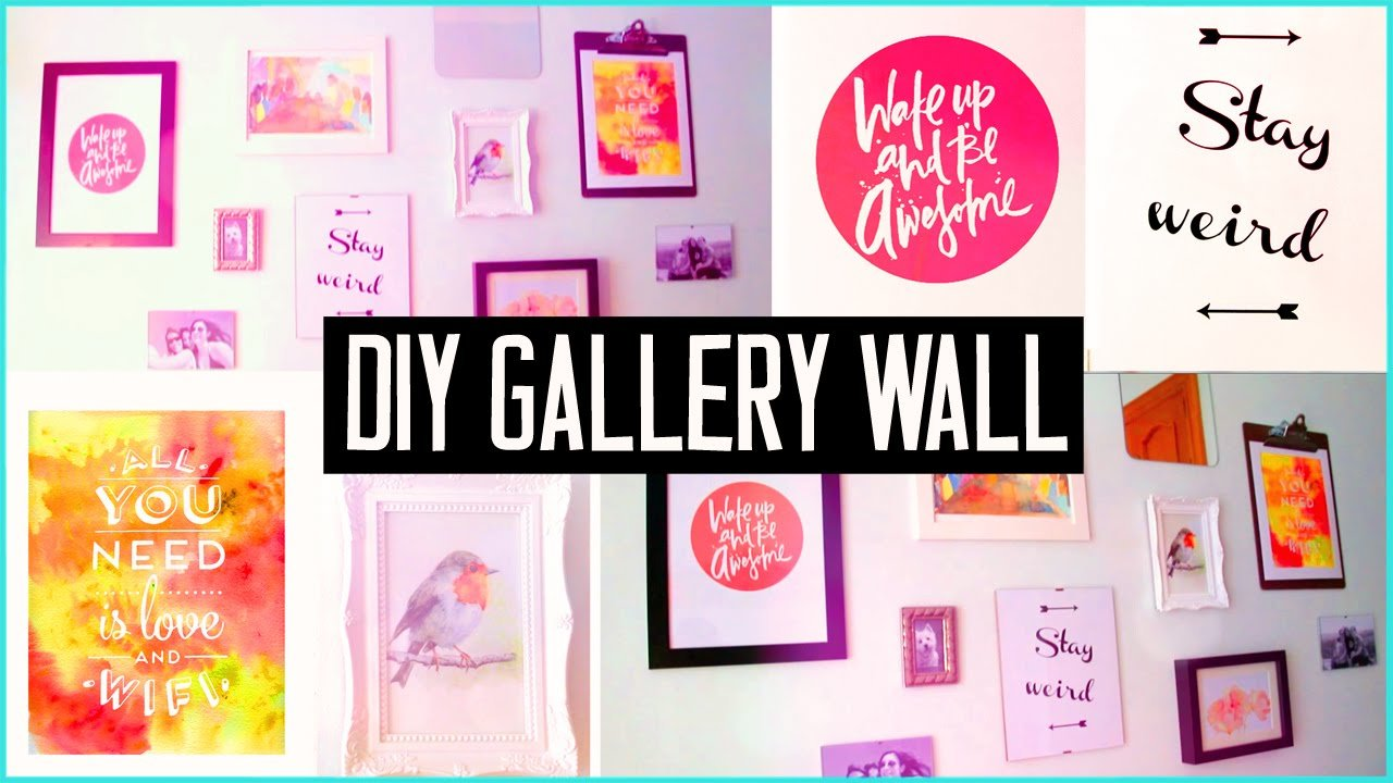 Best Diy Room Decor Design Your Wall Arts Make Your Own With Pictures